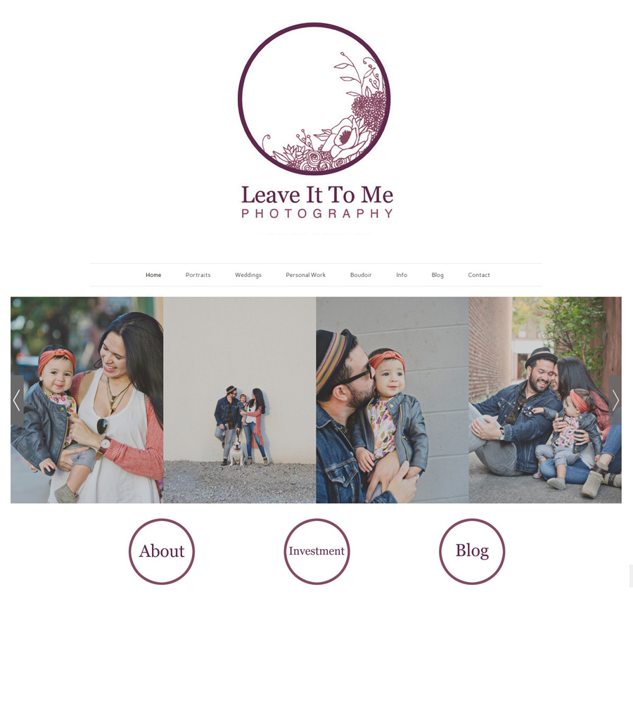 Website Launch and Rebrand_Philly Photog_Leave It To Me Photography_Ardmore
